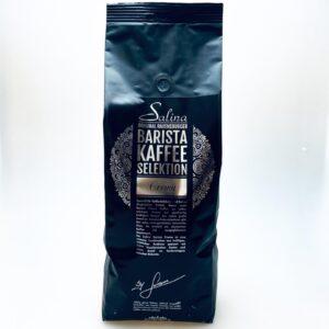 Beim Salina Barista Crema Kaffee erwartet Sie ein volles und würziges Aroma bei gleichzeitig kräftigem Körper.