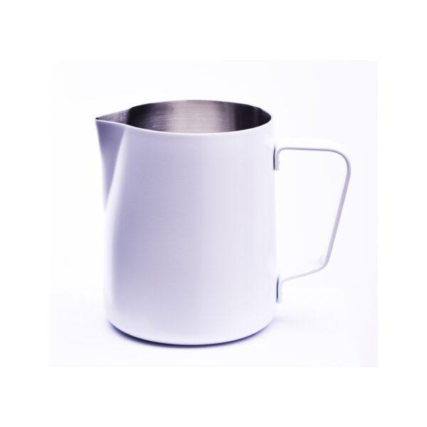Das Milchkännchen aus Edelstahl von JoeFrex ist perfekt für einen einzigartigen Milchschaum.