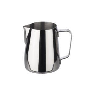Mit dem JoeFrex Milchkännchen erhalten Sie perfekten Milchschaum für Latte Art.